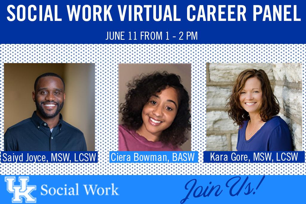 Virtual Social Work Career Panel