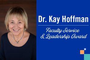 Kay Hoffman Receives CSWE Award