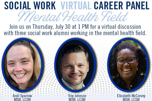 Social Work Career Panel: Mental Health
