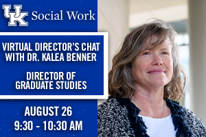 Virtual Director's Chat with Dr. Kalea Benner