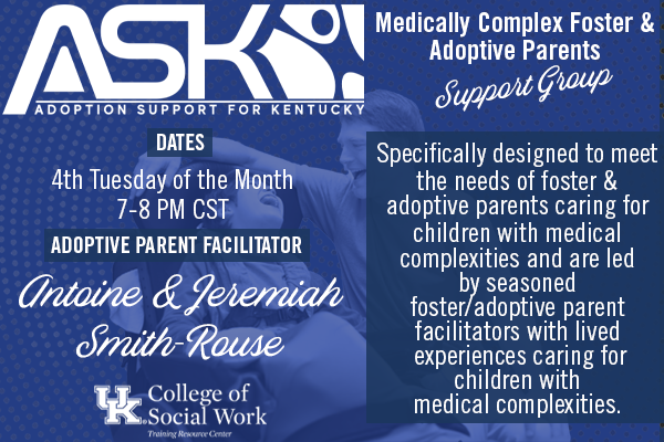 ASK-VIP Medically Complex Support Group with Antoine & Jeremiah Smith-Rouse
