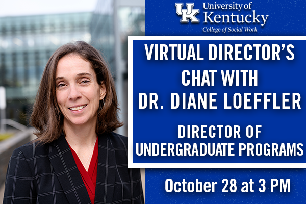 Virtual Director's Chat with Dr. Diane Loeffler