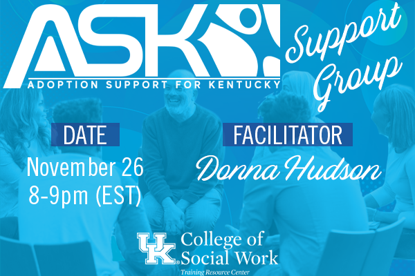 ASK-VIP Support Group with Donna Hudson