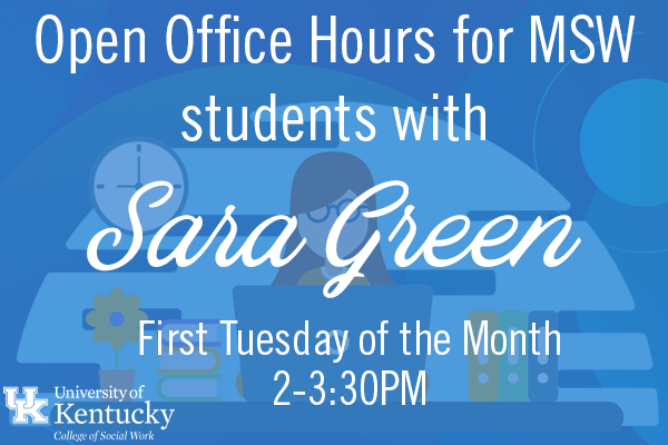 Open Office Hours with Sara Green (MSW)