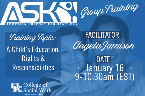 ASK-VIP Group Training with Angela Jamison