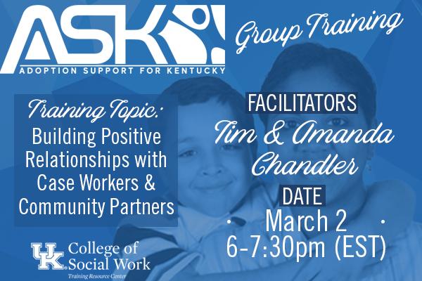 ASK-VIP Group Training with Tim & Amanda Chandler