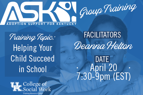 ASK-VIP Group Training with Deanna Helton