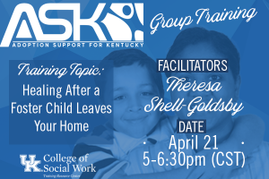 ASK-VIP Group Training with Theresa Shell-Goldsby